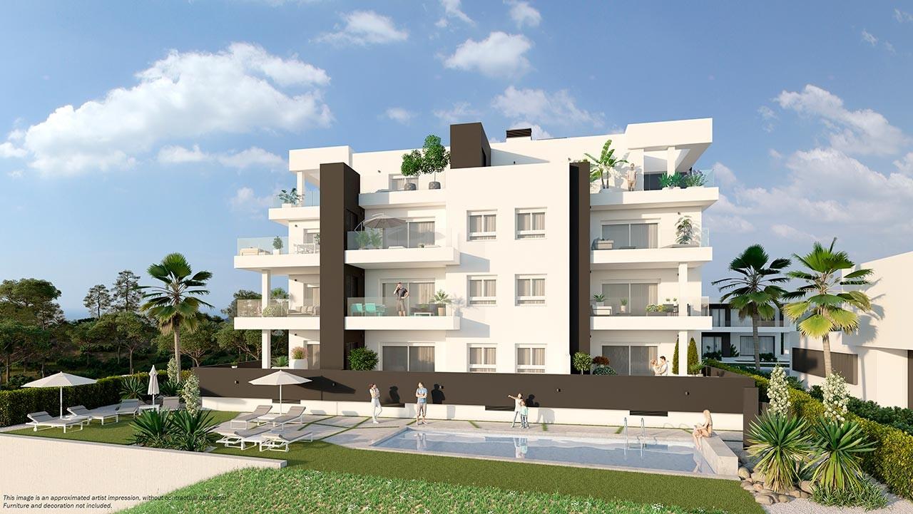 Апартаменты в Кампоамор