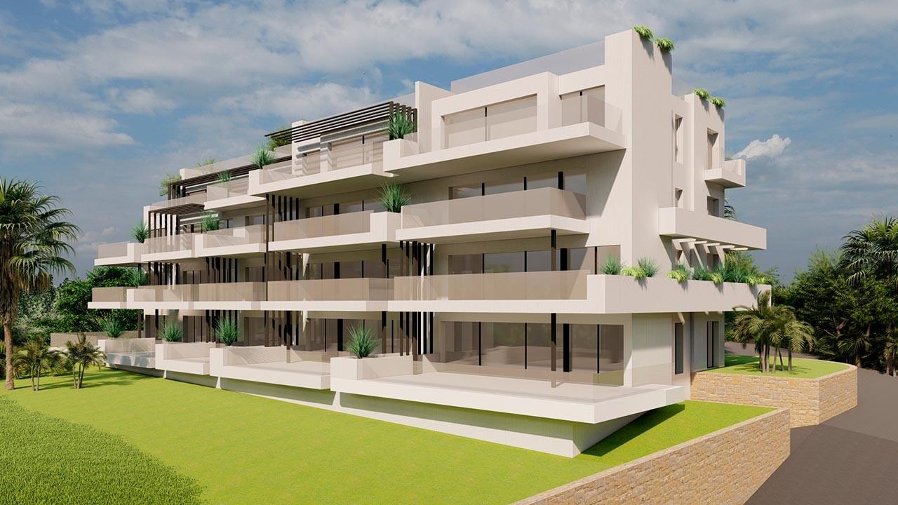 Апартаменты в Кампоамор, 2+1