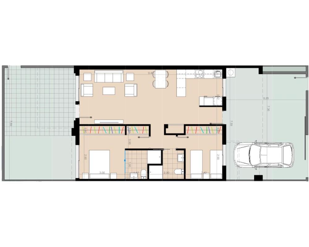 Фотогалерея Апартаменты в Пилар-де-ла-Орадада, 2+1, 3+1