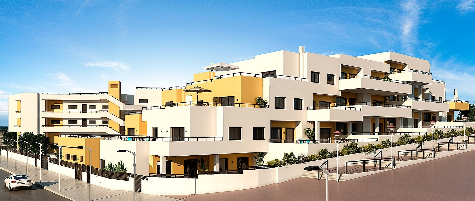 Апартаменты в Гуардамар-дель-Сегура
